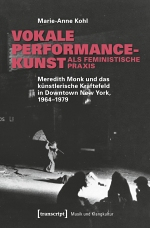 Cover Vokale Performance-Kunst - Anne Kohl